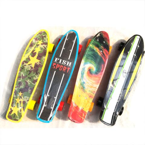 Скейтборд-пенниборд Fish 9935 размер 22