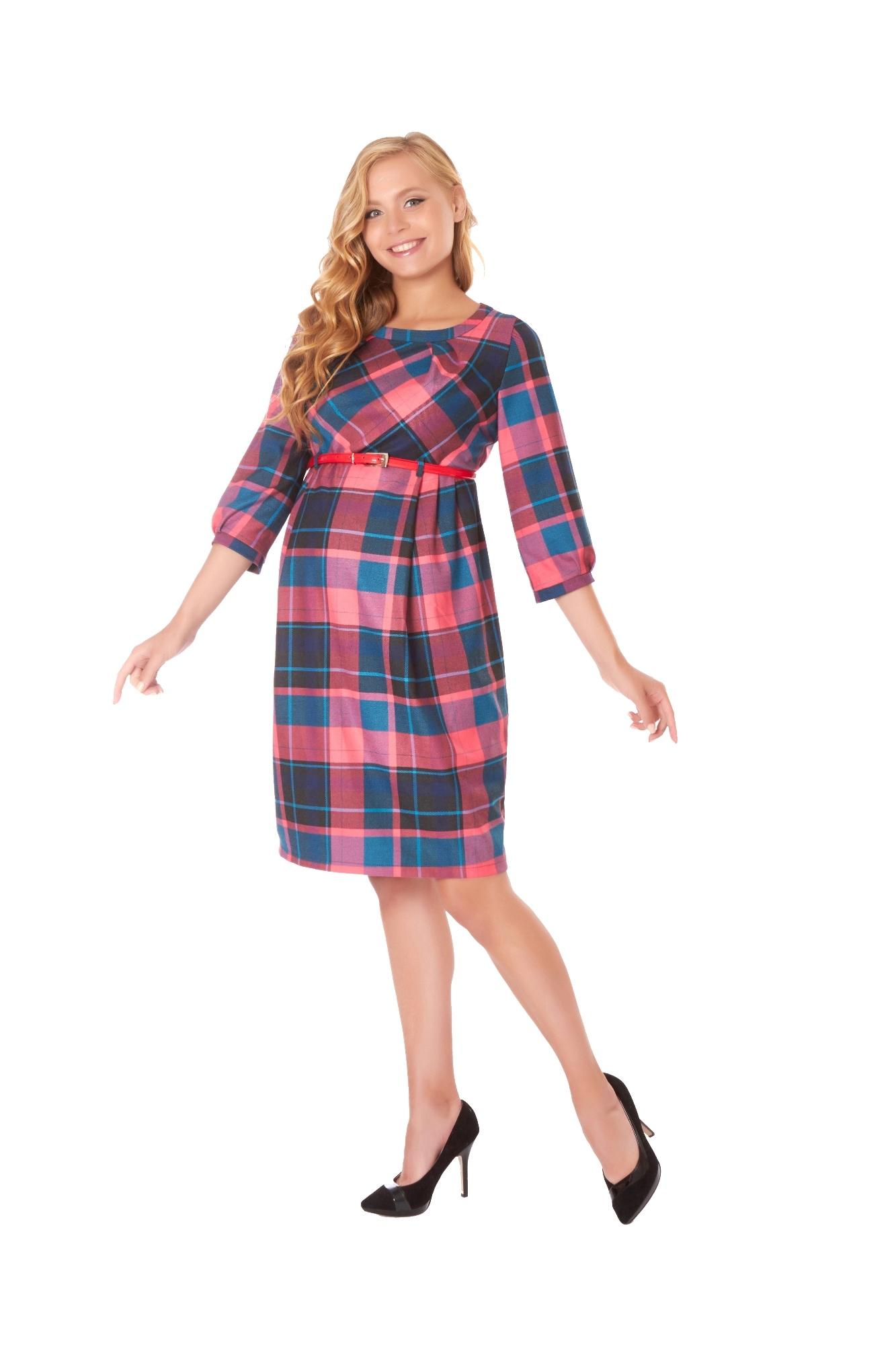 Платье 07756 розовый
