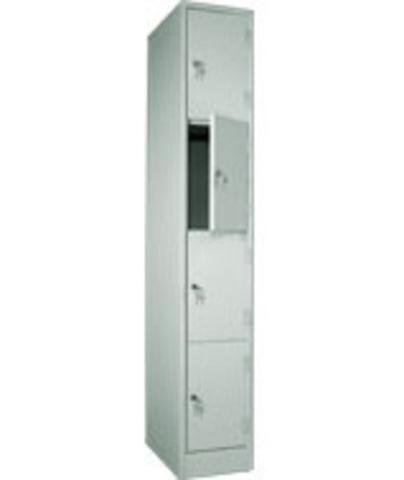 Шкаф для сумок ШРМ-14, 4 ячейки,1860х300х500