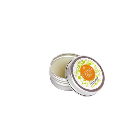 Бальзам для губ Summer Love интенсивное восстановление с оливковым маслом, 10 г ТМ PRETTY GARDEN