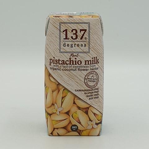Фисташковое молоко без сахара 137 degrees, 180 мл