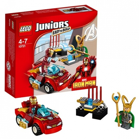 LEGO Juniors: Железный человек против Локи 10721