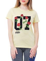 461134-7 футболка женская, желтая