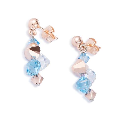 Серьги Coeur de Lion 4952/21-2000 цвет голубой