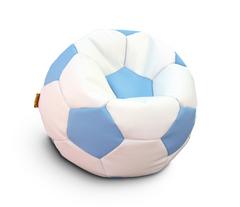 Кресло мяч Бело-Голубой