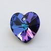 6228 Подвеска Сваровски Сердечко Crystal Heliotrope (10,3х10 мм)