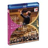 Riccardo Muti, Vienna Philharmonic Orchestra / New Year's Concert 2018 (Blu-ray)