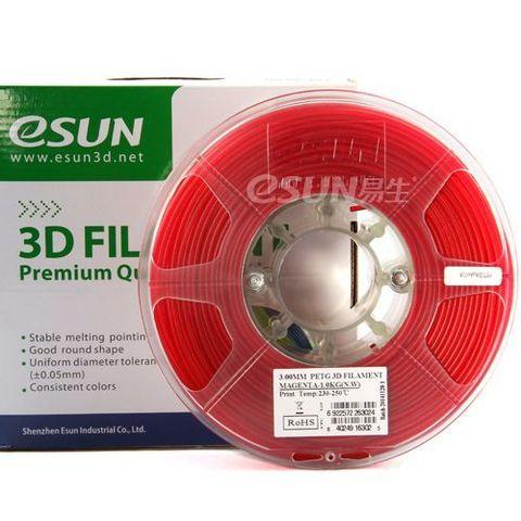PETG-пластик ESUN 1.75 мм 1кг., красный (PETG175PP1)