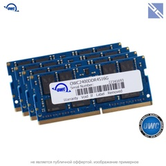 Комплект модулей памяти OWC 64GB для iMac 2017 набор 4x 16GB 2400MHZ DDR4 SO-DIMM PC4-19200 1.2V