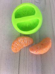 Силиконовый молд апельсин