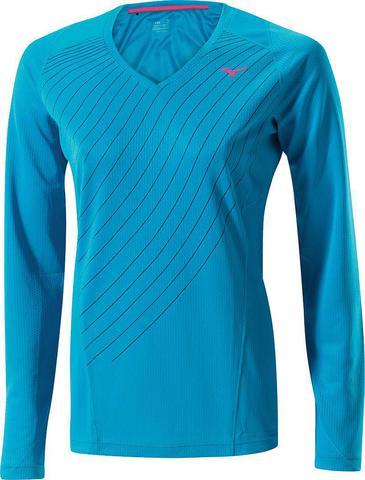 Рубашка беговая Mizuno Warmalite L/S TEE женская