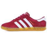 Кроссовки Мужские Adidas Hamburg Suede Red