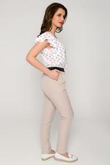 Очень удобные летние брюки с карманами. Пояс на резинке. (Длина 100 см)
