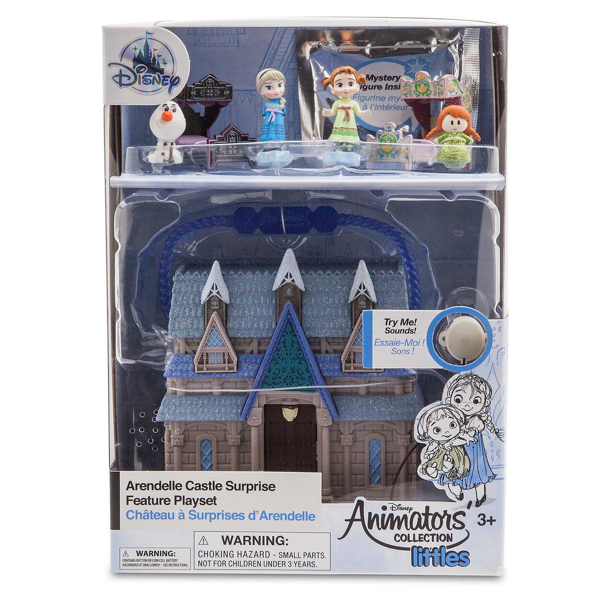 Мини-набор кукол Эльза и Анна - Disney Animators' Collection