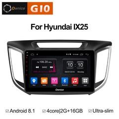 Штатная магнитола на Android 8.1 для Hyundai Creta Ownice G10 S1701E