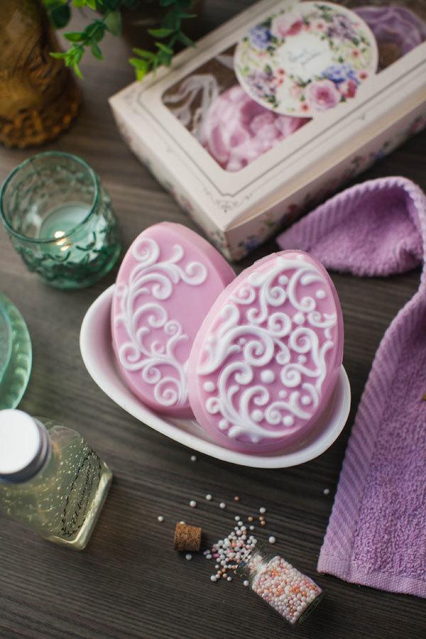 Подарочное мыло на Пасху. Мыло в форме яйца