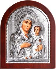 Иерусалимская икона Божией Матери серебряная