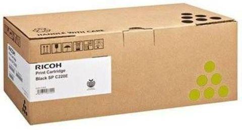 Принт-картридж Ricoh SP C352E, желтый. Ресурс 6000 стр. (407386)