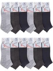 D13 носки мужские цветные 42-48 (12шт)