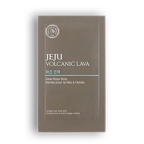 THE FACE SHOP Jeju Volcanic Lava Aloe Nose Strips, 1шт