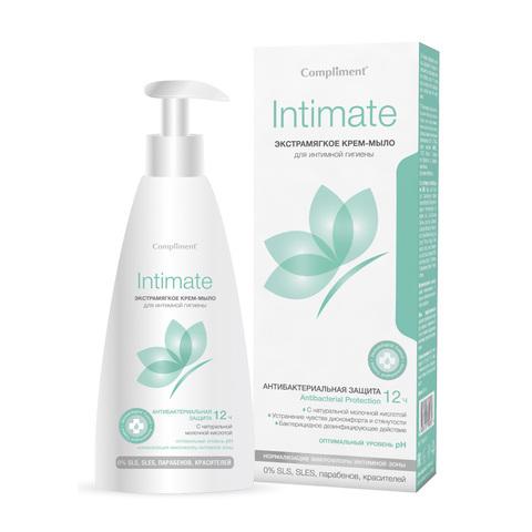 Compliment Intimate  Экстрамягкое Крем-мыло