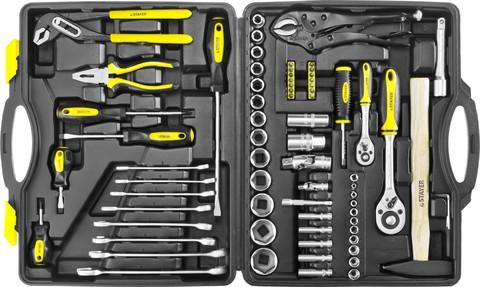 STAYER MASTER 72 универсальный набор инструмента 72 предм.