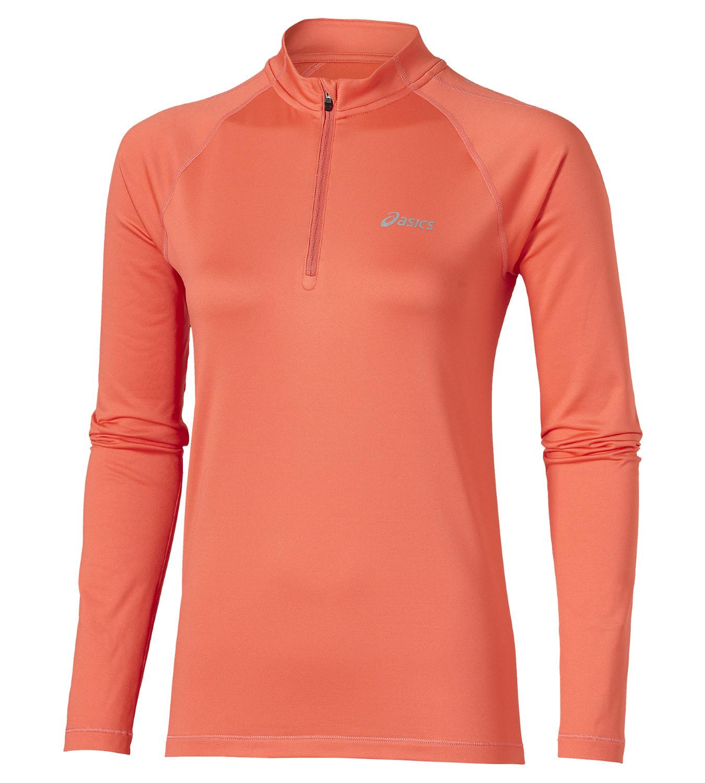 Женская беговая рубашка Asics Ess Winter 1/2 Zip (114639 0646)