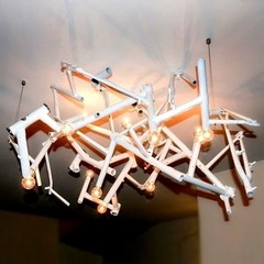 Bicycle Round Chandelier By Zac Ridgely, from Ridgely Studio Works