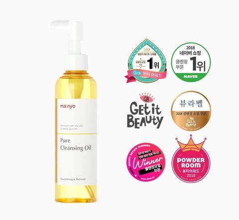 Гидрофильное масло для снятия макияжа, 200 мл / Manyo Factory Pure Cleansing Oil