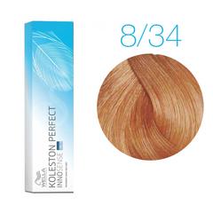 Wella Professionals Koleston Perfect Innosense 8/34 (Светлый блонд золотистый-красный) - Стойкая крем-краска для волос