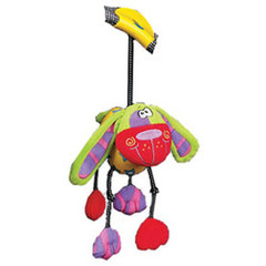 Playgro Мягкая игрушка-погремушка Дингли-Дангли Собака (0111868-3)