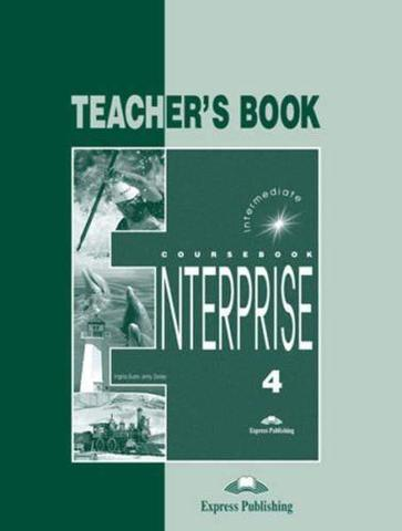 enterprise 4 teacher's book - книга для учителя (new)
