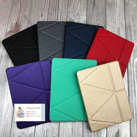 Чехол Origami Case iPad 10.5 Air 3 (2019)/PRO Leather embossing /gray/