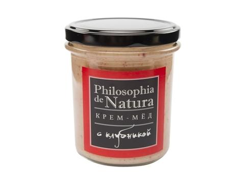 Крем-мед Philosofia de Natura с клубникой, 400 мл
