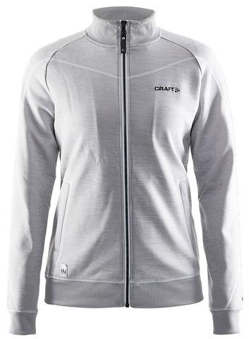 Куртка флисовая женская Craft In the Zone (серый-3950)
