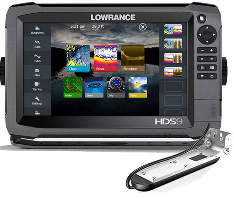 Комплект Lowrance HDS-9 + TotalScan Skimmer