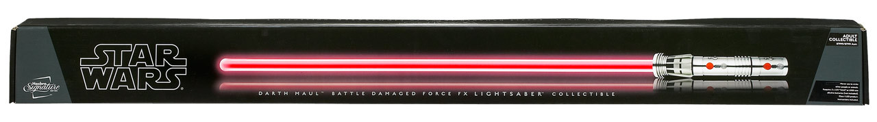 FX Lightsaber - Darth Maul Battle Damaged