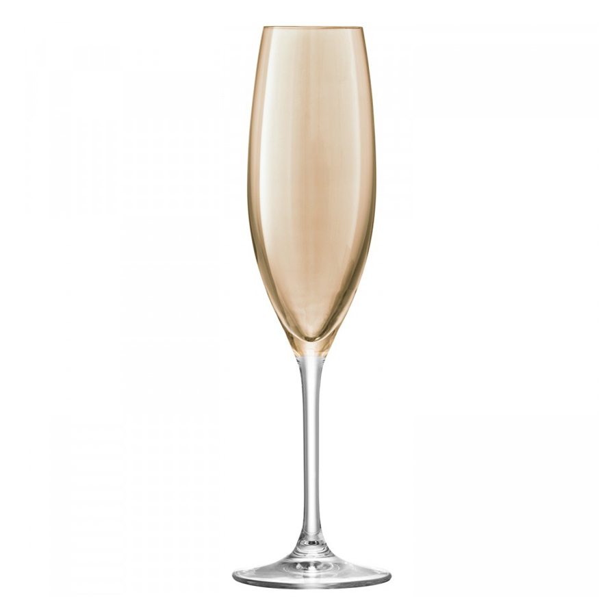 Набор из 4 бокалов-флейт для шампанского Polka 225 мл металлик LSA International G978-09-960 | Купить в Москве, СПб и с доставкой по всей России | Интернет магазин www.Kitchen-Devices.ru