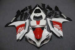 Комплект пластика для мотоцикла Yamaha YZF-R1 07-08 Красно-Бело-Черный