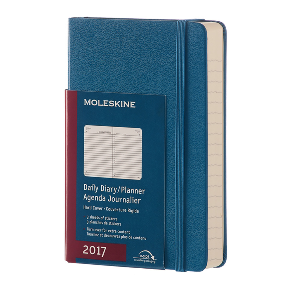 Ежедневник Moleskine Classic Daily Large, цвет синий