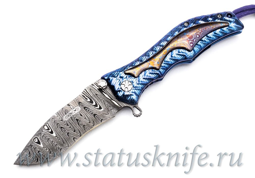 Нож GUN HAMMER DAMASCUS Кастом