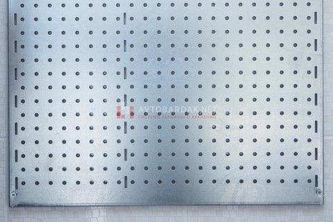Металлическая перфорированная панель для инструмента, 580х600 мм