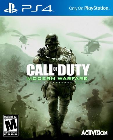 Sony PS4 Call of Duty: Modern Warfare Remastered (русская версия)