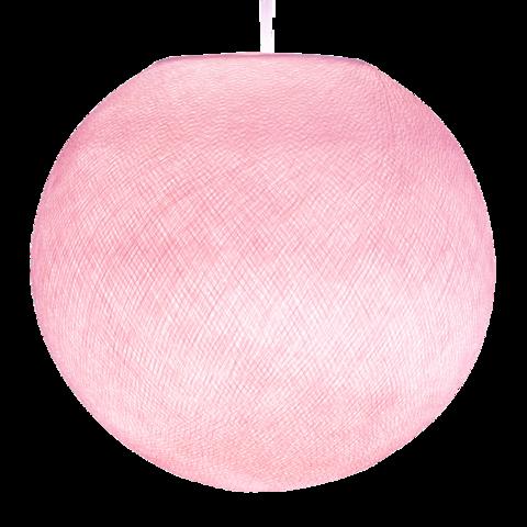 Хлопковый шар - подвес Нежно-розовый