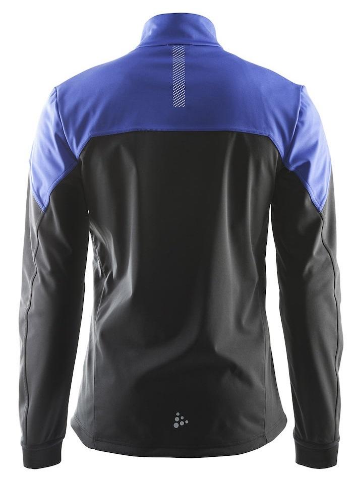 Мужская лыжная куртка Craft Voyage XC (1903581-2344) черный/синий