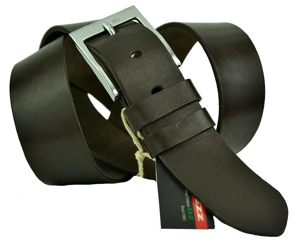 Ремень мужской коричневый джинсовый 40Diezz-p-016
