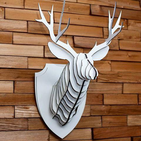 Голова оленя на стену