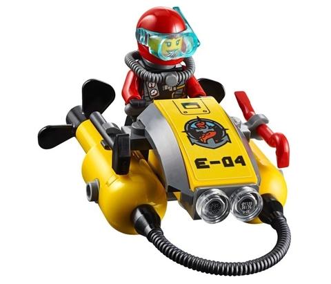 LEGO City: Корабль исследователей морских глубин 60095