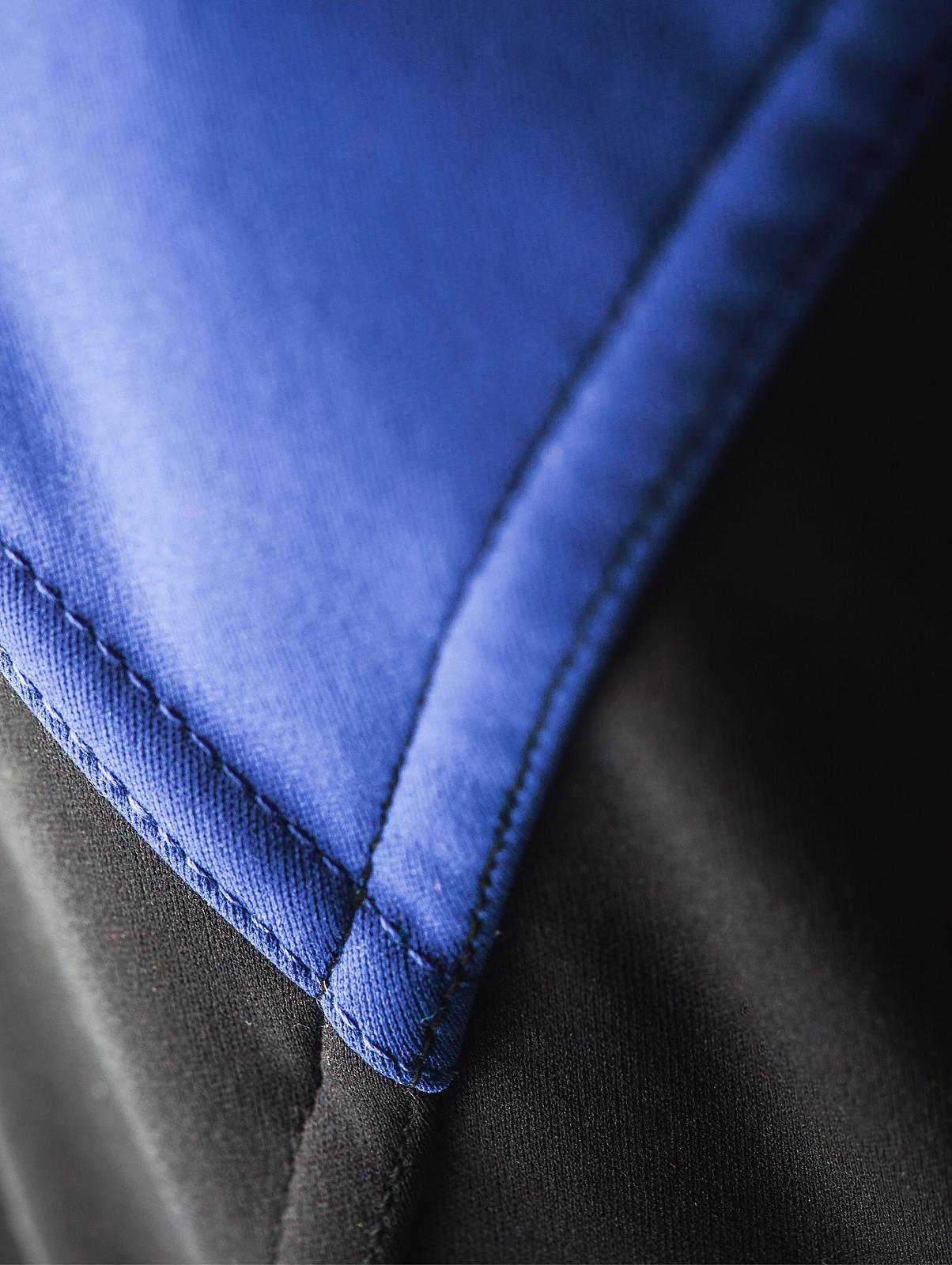 Мужская лыжная куртка крафт Voyage XC (1903581-2344) черный/синий