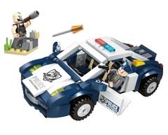 Конструктор серия Полиция Перестрелка на дороге